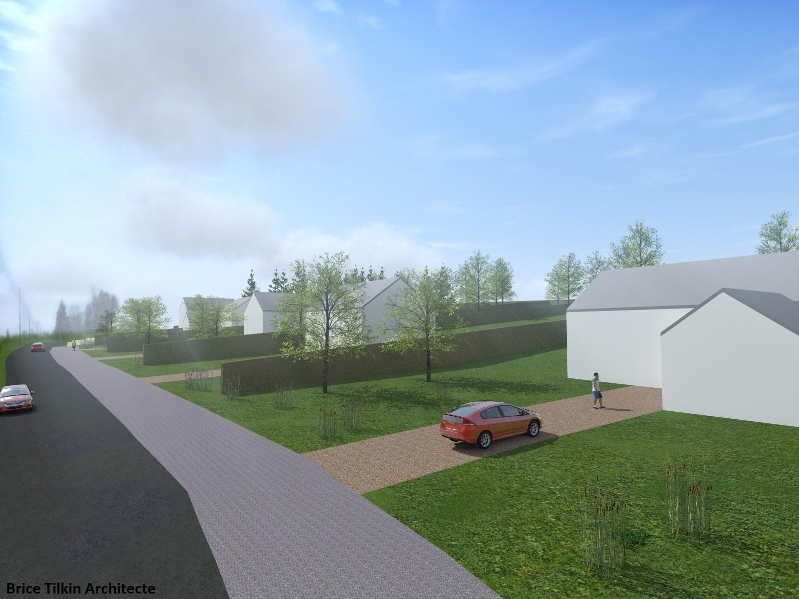 tilkin brice architecte li ge permis de lotir 6 bureau d 39 architecture tilkin. Black Bedroom Furniture Sets. Home Design Ideas