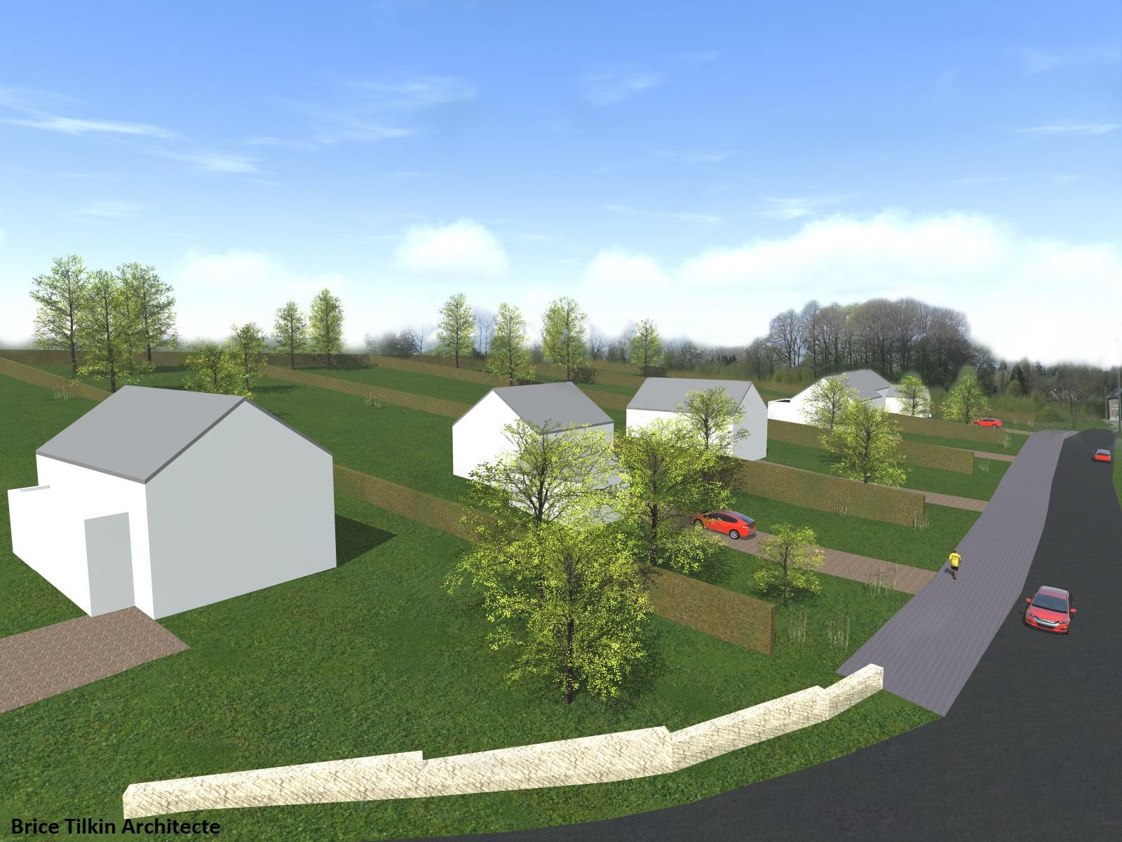 tilkin brice architecte li ge permis de lotir 7 bureau d 39 architecture tilkin. Black Bedroom Furniture Sets. Home Design Ideas