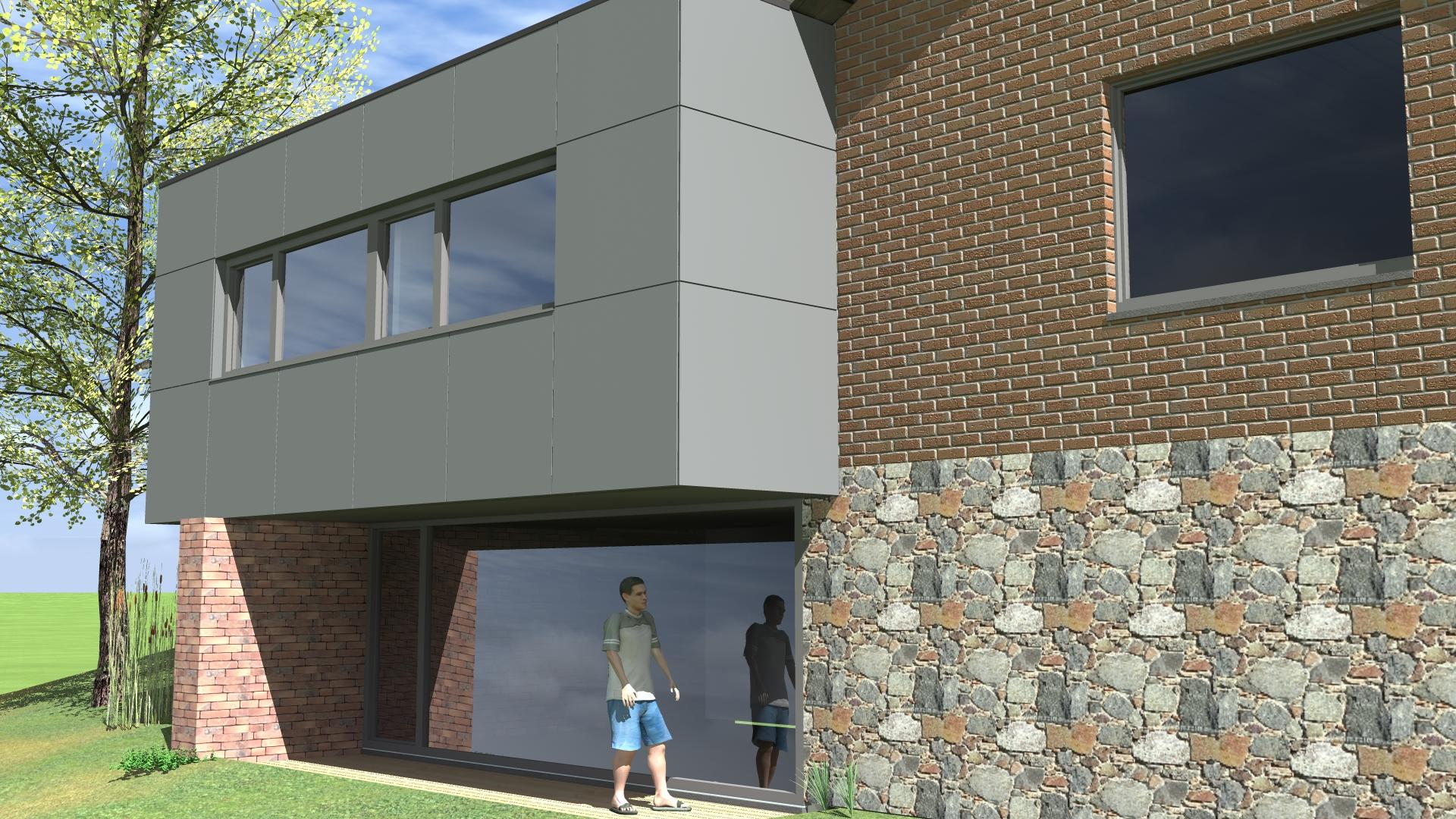 tilkin brice architecte li ge projet m 1 bureau d 39 architecture tilkin. Black Bedroom Furniture Sets. Home Design Ideas