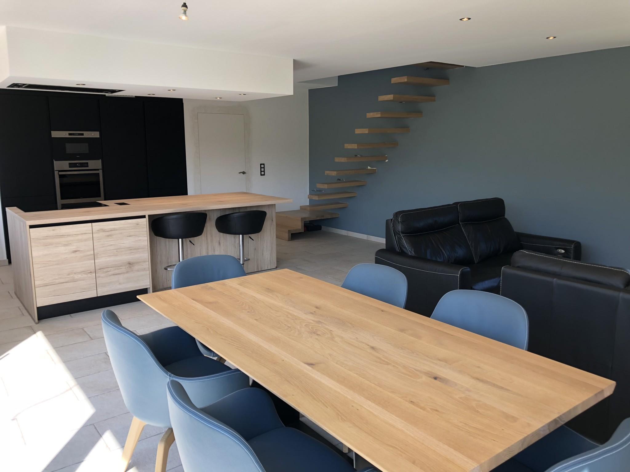 Bureau d architecture tilkin maison ossature bois aywaille