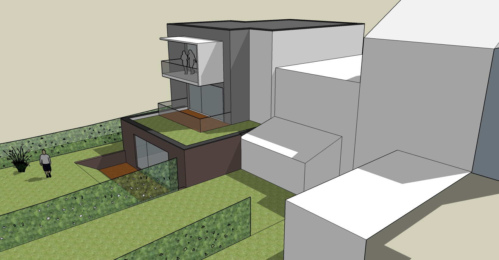 Projet tth chaudfontaine bureau d 39 architecture tilkin for Projet d architecture